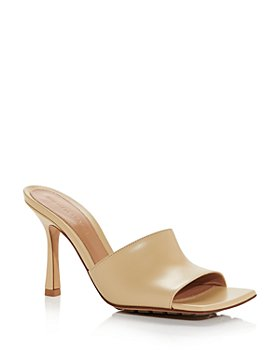 Bottega Veneta - Women's Square Toe High Heel Sandals