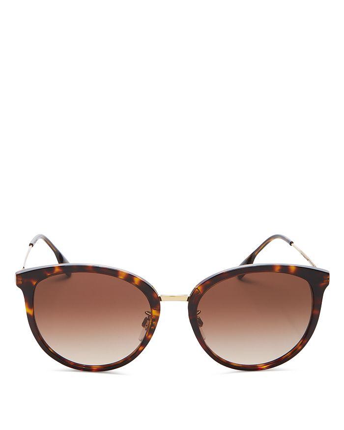 Burberry - Women's Round Sunglasses, 56mm