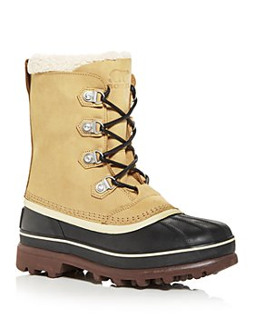 Sorel - Men's Caribou Stack Waterproof Cold Weather Boots