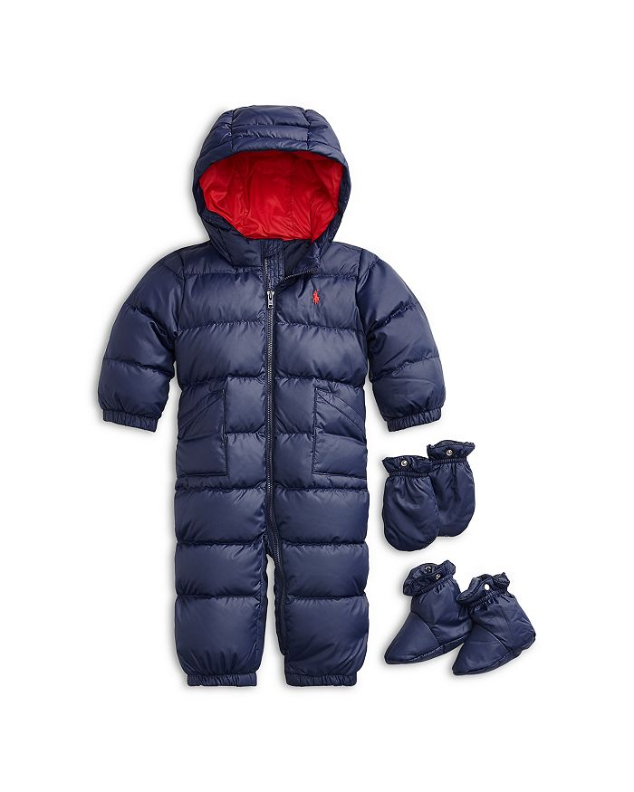 Ralph Lauren - Boys' Solid Quilted Snowsuit - Baby