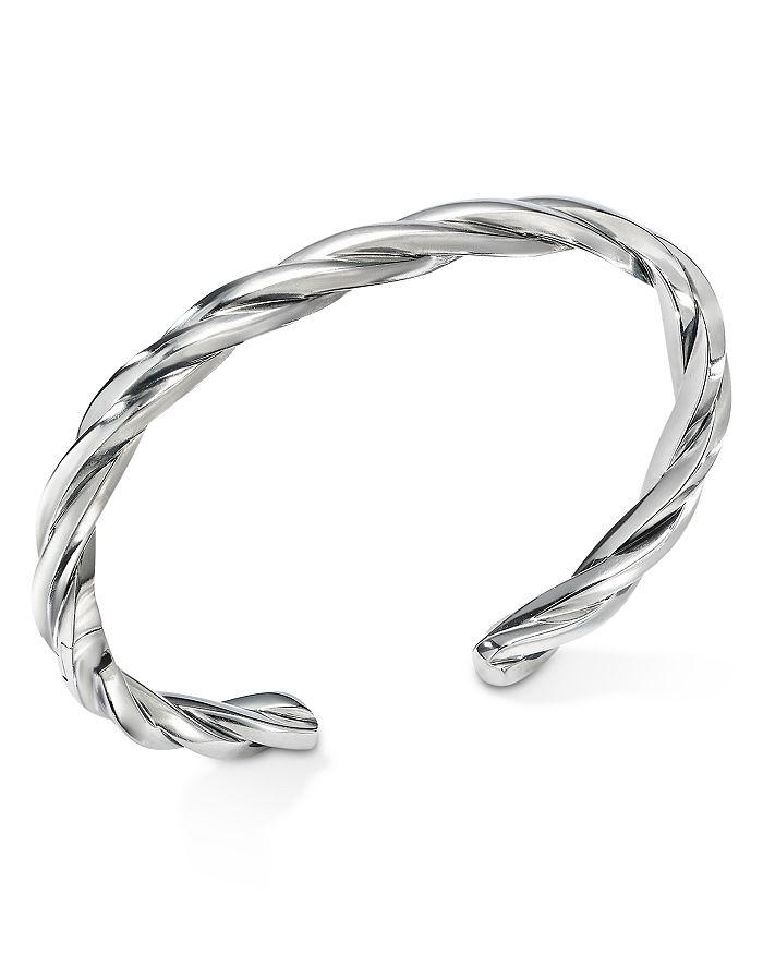 David Yurman - Narrow Twisted Cable Cuff Bracelet