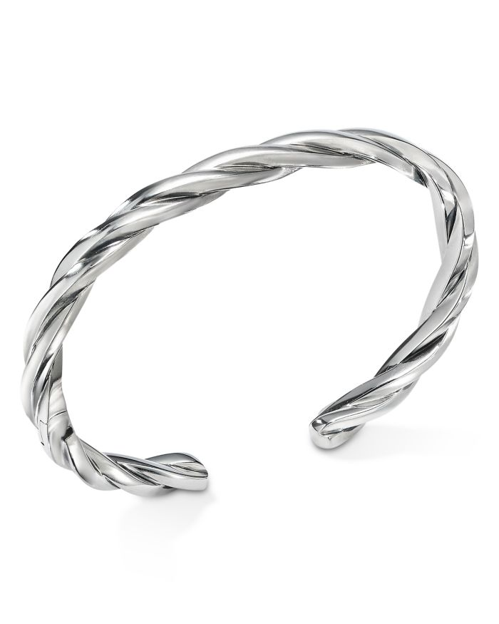 David Yurman Narrow Twisted Cable Cuff Bracelet    Bloomingdale's