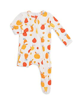 Angel Dear - Unisex Pumpkin Print Footie - Baby