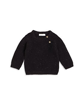 Miles Baby - Boys' Waffle Knit Sweater - Baby