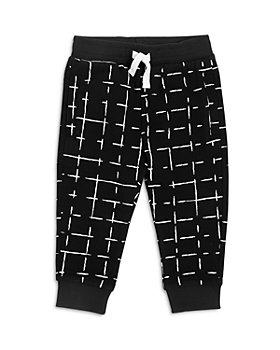 Miles Baby - Unisex Printed Knit Pants - Baby