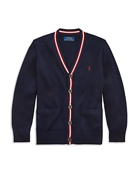 Ralph Lauren - Boys' Long Sleeve Button Cardigan - Little Kid, Big Kid