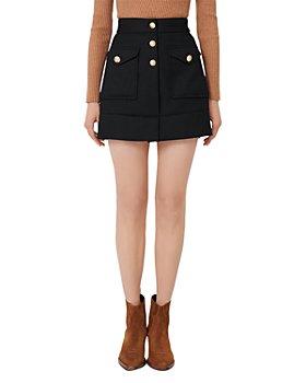 Maje - Janao A Line Mini Skirt