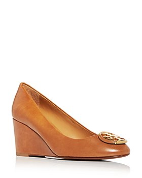 Tory Burch - Women's Logo Wedge Pumps
