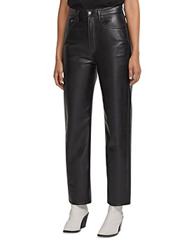 AGOLDE - 90s Fitted Recycled Leather Pants