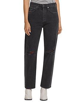 AGOLDE - 90s Wide Leg Jeans in Smokestack