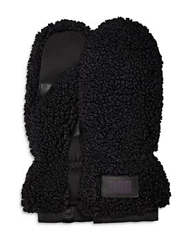 UGG® - Sherpa Faux Fur Mittens