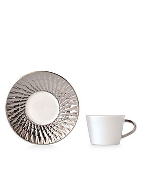Bernardaud - Twist Platinum Espresso Cup - 100% Exclusive