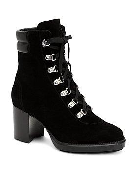 Aquatalia - Women's Iriana Weatherproof Suede & Leather Boots