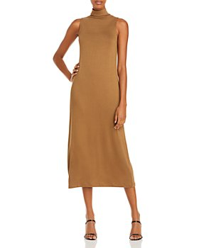 Vince - Sleeveless Mockneck Dress