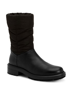 Aquatalia - Women's Lori Weatherproof Tech Nylon & Leather Boots