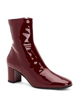 Aquatalia - Women's Britney Weatherproof Patent Leather Booties
