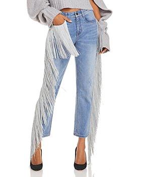 Hellessy - Fringe Trim Jeans