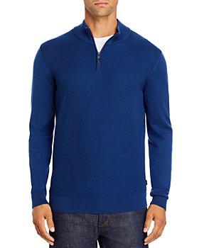 BOSS - Quarter-Zip Sweater