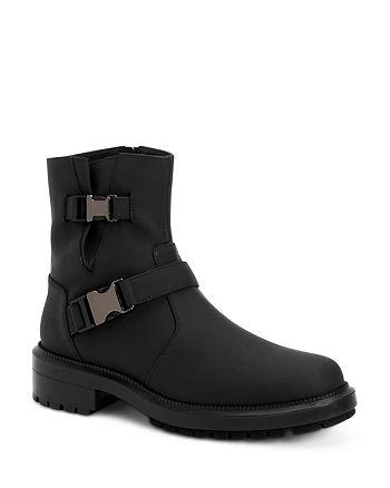 Aquatalia - Women's Lillie Weatherproof Matte Leather Short Boots