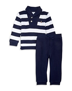 Ralph Lauren - Boys' Rugby Stripe Shirt & Jogger Pants Set - Baby