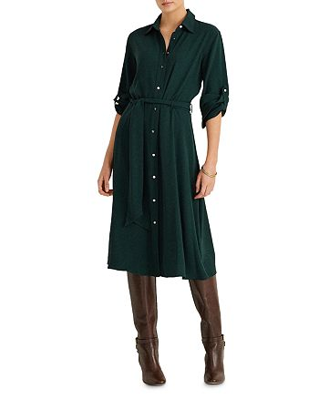 Ralph Lauren - Belted Shirt Dress