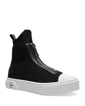 SCHUTZ - Women's Myrnna Zip High Top Sneakers