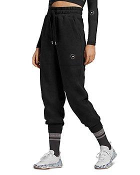 adidas by Stella McCartney - High Rise Cropped Drawstring Sweatpants