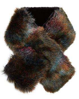 Jocelyn - Faux Fur Pull Thru Scarf