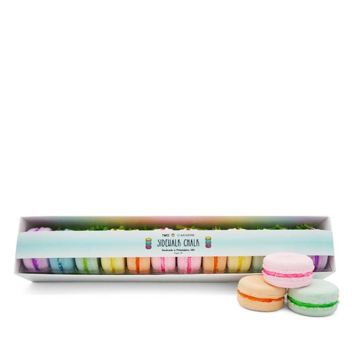 TWEE 12 Pc. Handmade Sidewalk Chalk Deluxe Macaron Set - 3+    Bloomingdale's