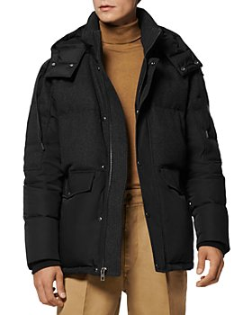 Andrew Marc - Rhodes Mixed Media Puffer Coat