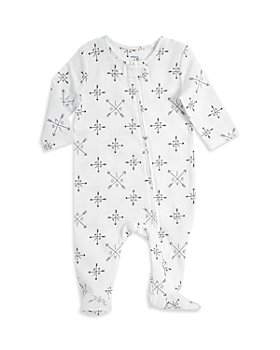 Aden and Anais - Unisex Love Print Footie - Baby