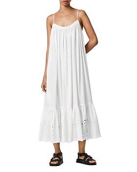 ALLSAINTS - Paola Cotton Slip Dress