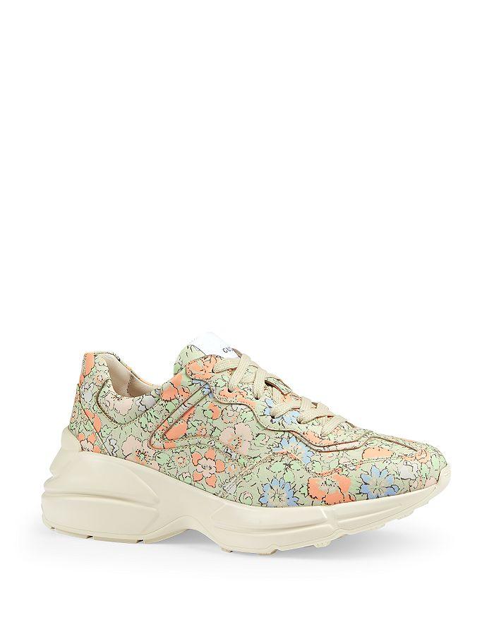 Gucci - Women's Rhyton Liberty London Sneakers