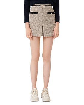 Maje - Jinie Tweed Mini Skirt