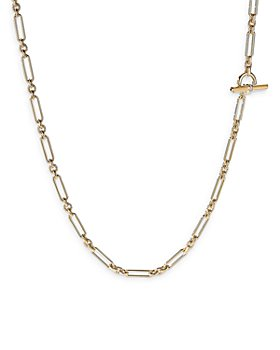 David Yurman - Lexington Chain Necklace in 18K Yellow Gold with Diamonds, 36""