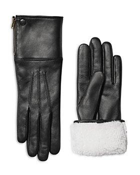 Mackage - Willis Women's Leather & Shearling Tech Gloves