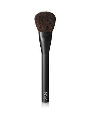 What It Is: A dome-shaped brush ideal for expertly sweeping pigments onto cheeks. It diffuses as it blends for a smooth, effortless application. Can be used for a variety of Nars\\\' signature cheek techniques to achieve an ethereal glow and a sculpted finish or to lift and brighten your face with color. Never lose your touch. Perfect your form with a new lineup of makeup brushes designed for ultimate artistry. High precision. High quality. The highest performance. Expertly shaped from durable synt