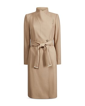 Ted Baker - Midi Wool Wrap Coat