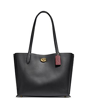 COACH - Willow Medium Pebble Leather Tote
