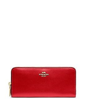 COACH - Slim Zip-Around Leather Wallet
