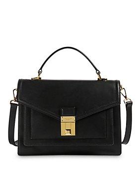 Ted Baker - Kim Medium Luggage Lock Leather Satchel
