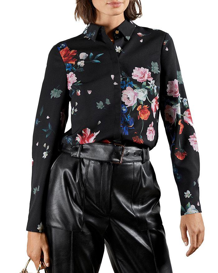 Ted Baker - Sandalwood Floral Print Shirt