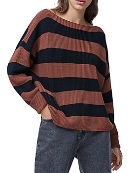 FRENCH CONNECTION - Millie Mozart Striped Sweater