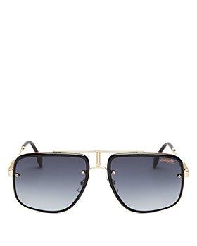 Carrera - Men's Glory II Brow Bar Square Sunglasses, 59mm