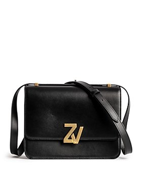Zadig & Voltaire - ZV Initiale Leather Shoulder Bag