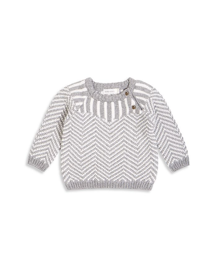 Miles Baby BOYS' MIXED STRIPE COTTON SWEATER - BABY