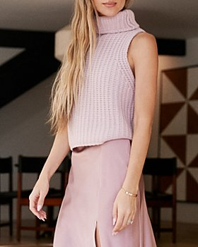 SABLYN - Saige Chunky Knit Cashmere Turtleneck Top