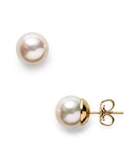 Majorica - Simulated Pearl Stud Earrings