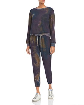 Vintage Havana - Tie Dyed French Terry Sweatshirt & Jogger Pants
