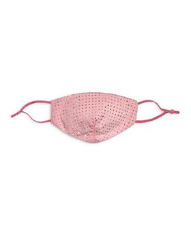 Bloomingdale's - Pink Crystal Face Mask